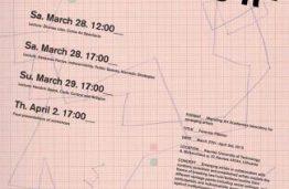 "Migrating Art Academies Lecture Series: ""Forensic Flâneur"""