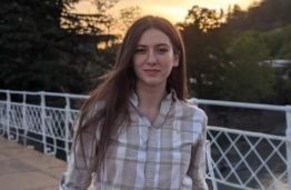 Sally Sakandelidze KTU student from Georgia