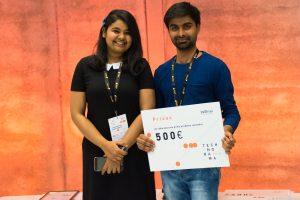 Team of international students awarded at Technorama'2018